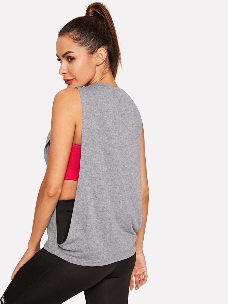 Low Side Tank Top