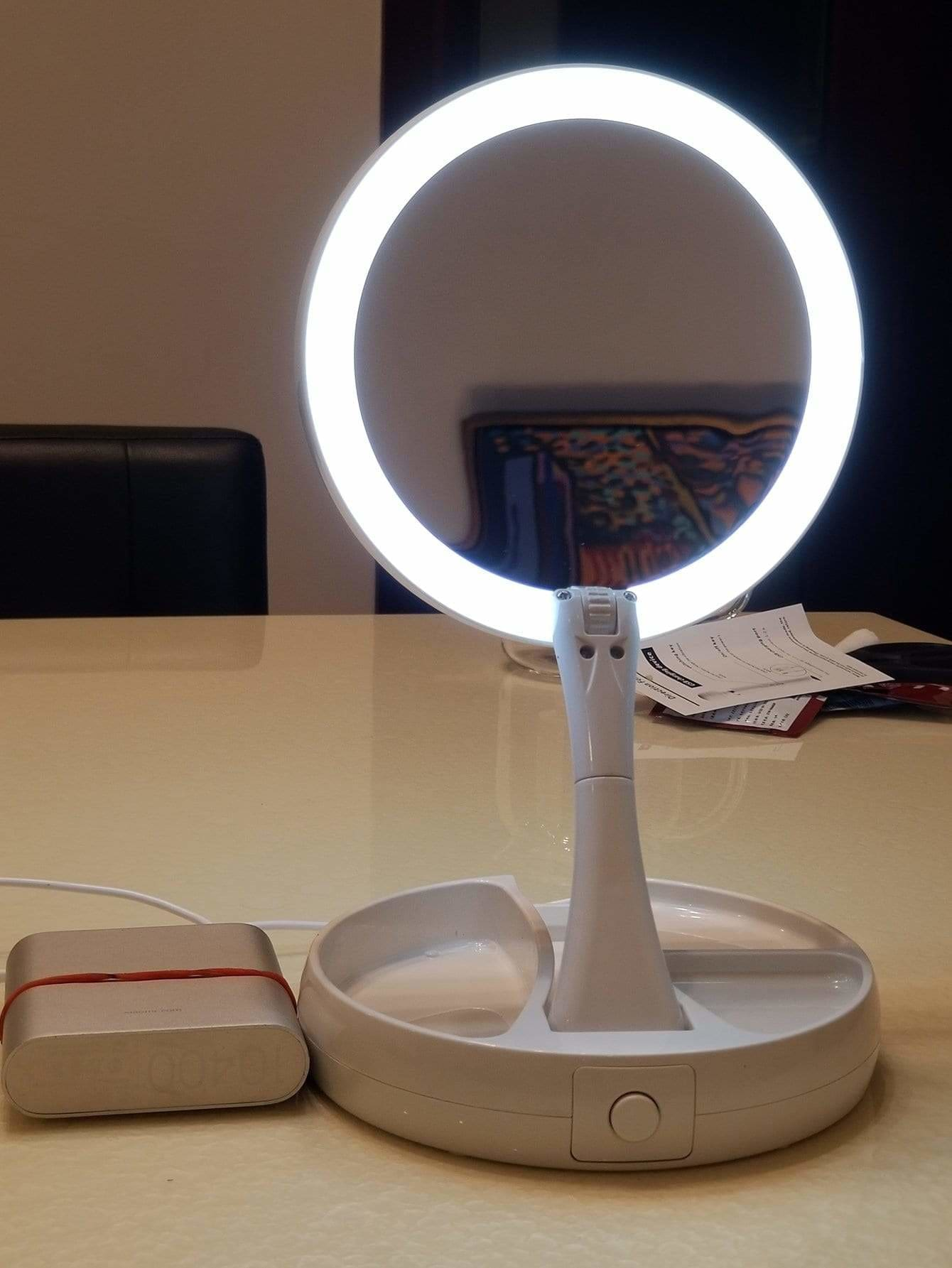 Makeup Mirror With Lamp 5V - Lighting & Lamps