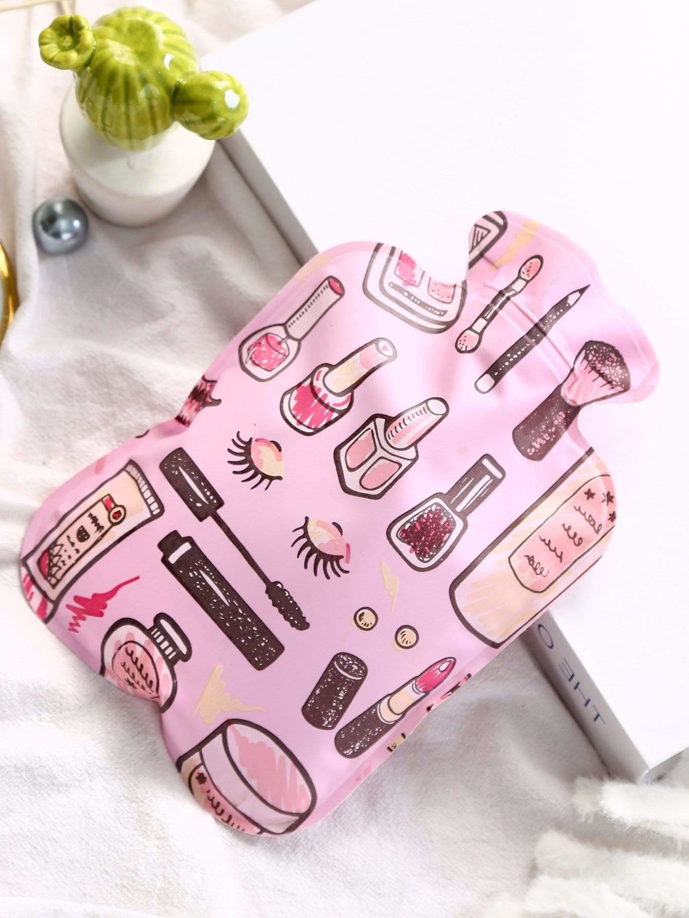 Makeup Pattern Hot Water Bag