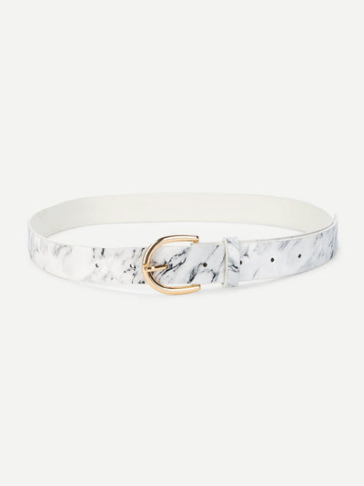 Marble Pattern Belt - Belts