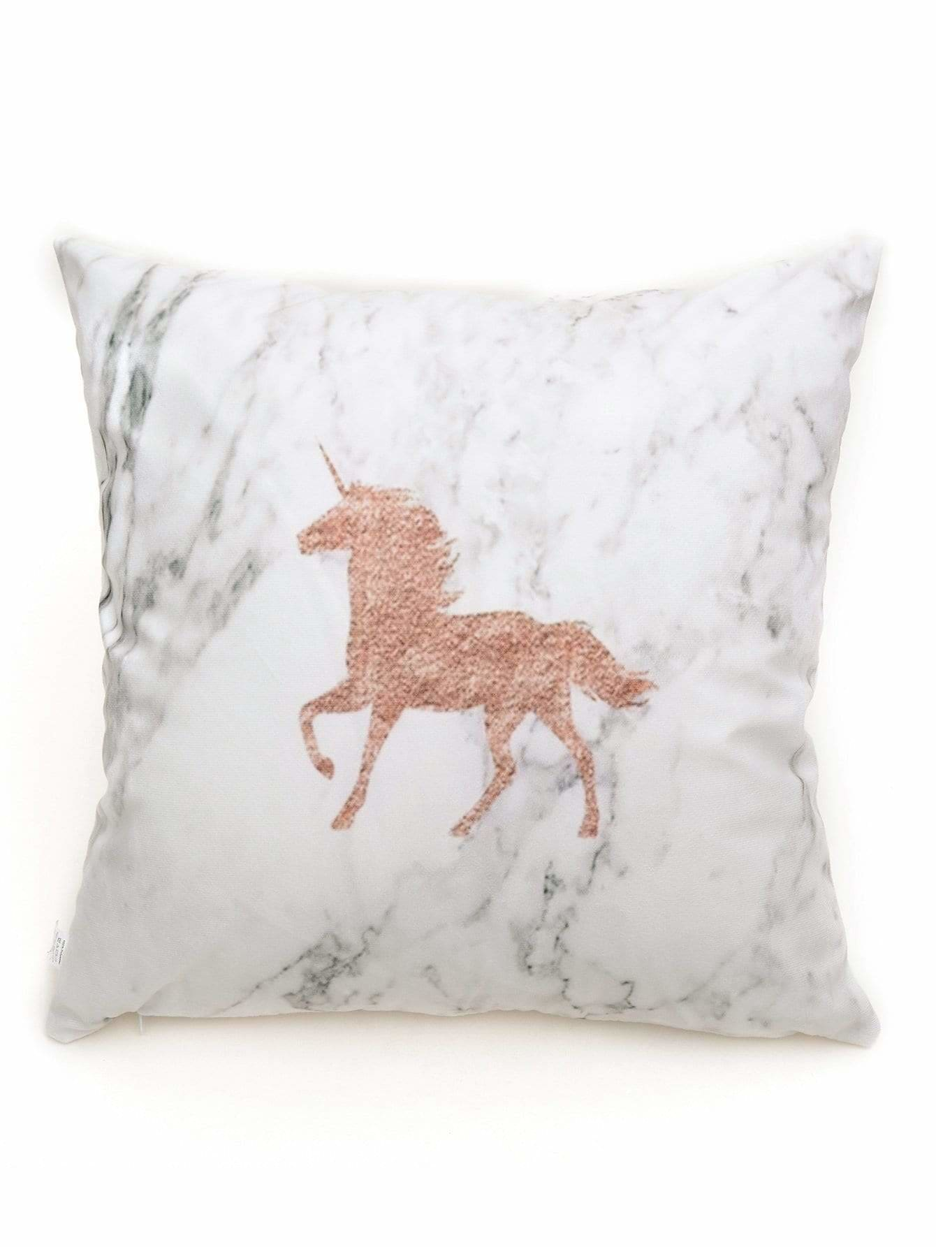 Marble Pattern Pillowcase - Decorative Pillows