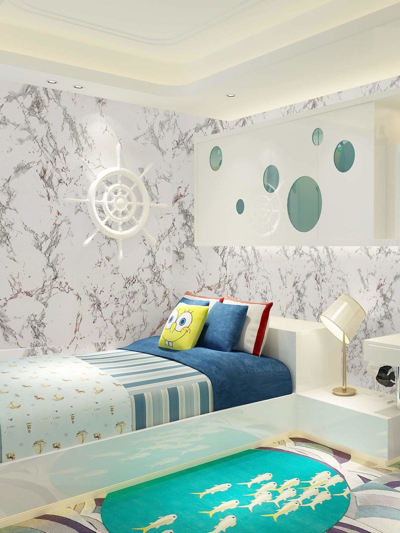 Marble Pattern Print Wallpaper - Wall Art