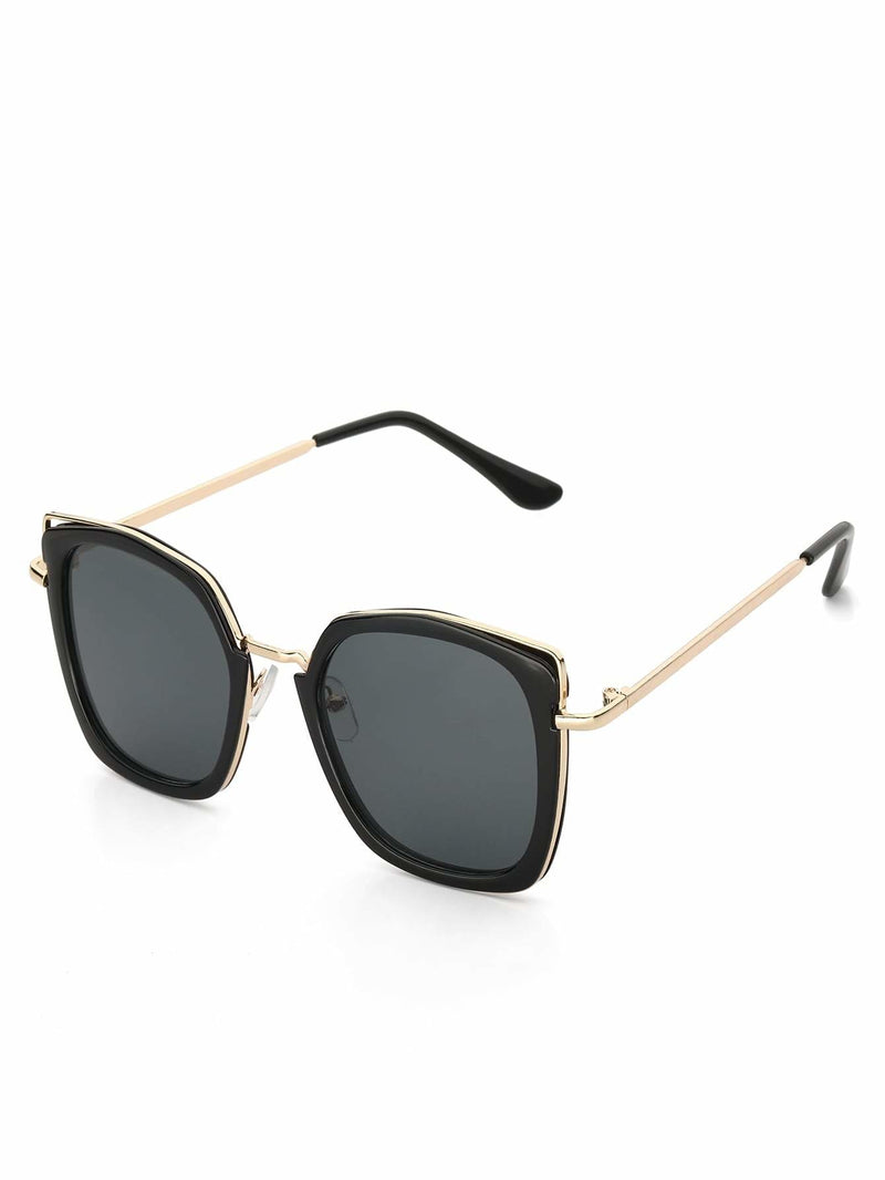 Men Double Frame Sunglasses