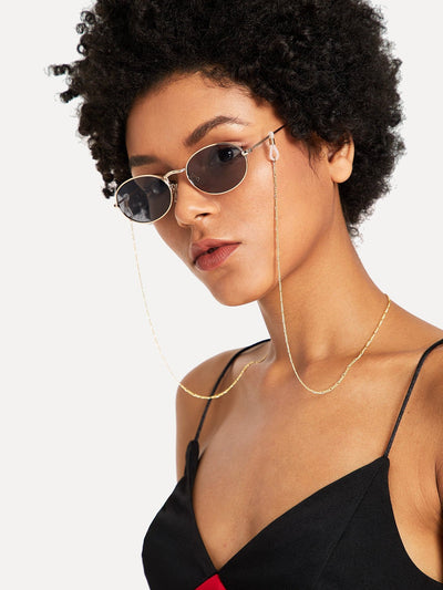 Metal Sunglasses Chain - Sunglasses