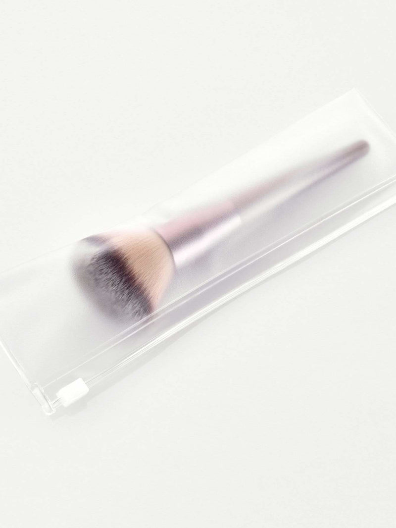Metallic Handle Powder Brush - Makeup Brushes
