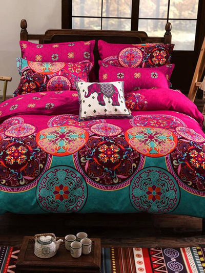 Middle East Print Sheet Set - Bedding Sets