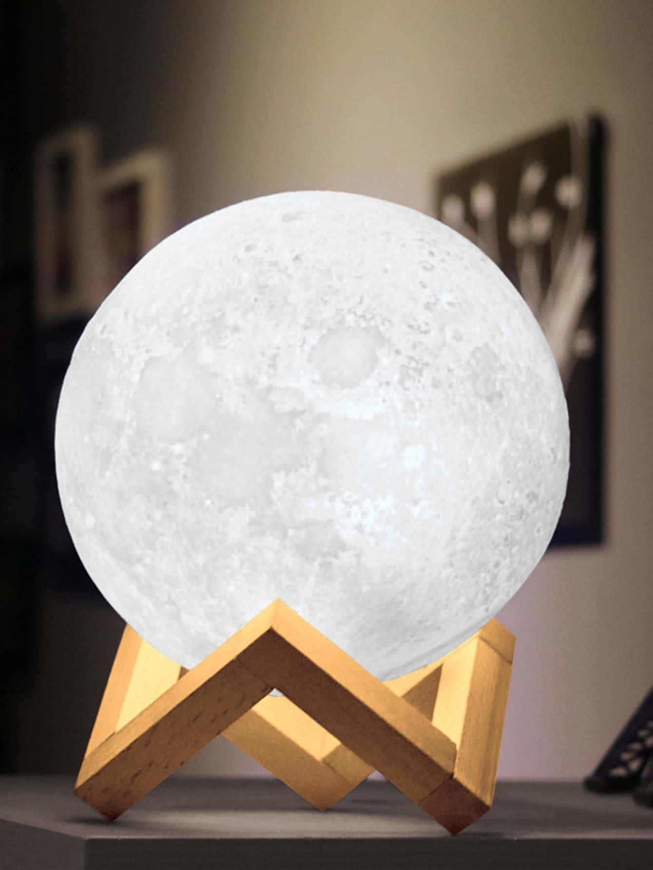 Moon Shaped Table Lamp 12V