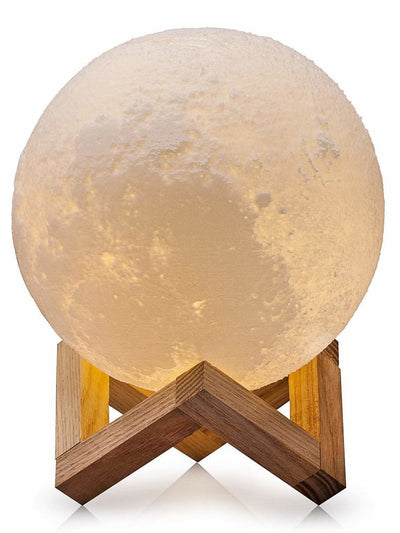 Moon Shaped Table Lamp 45V - Lighting & Lamps