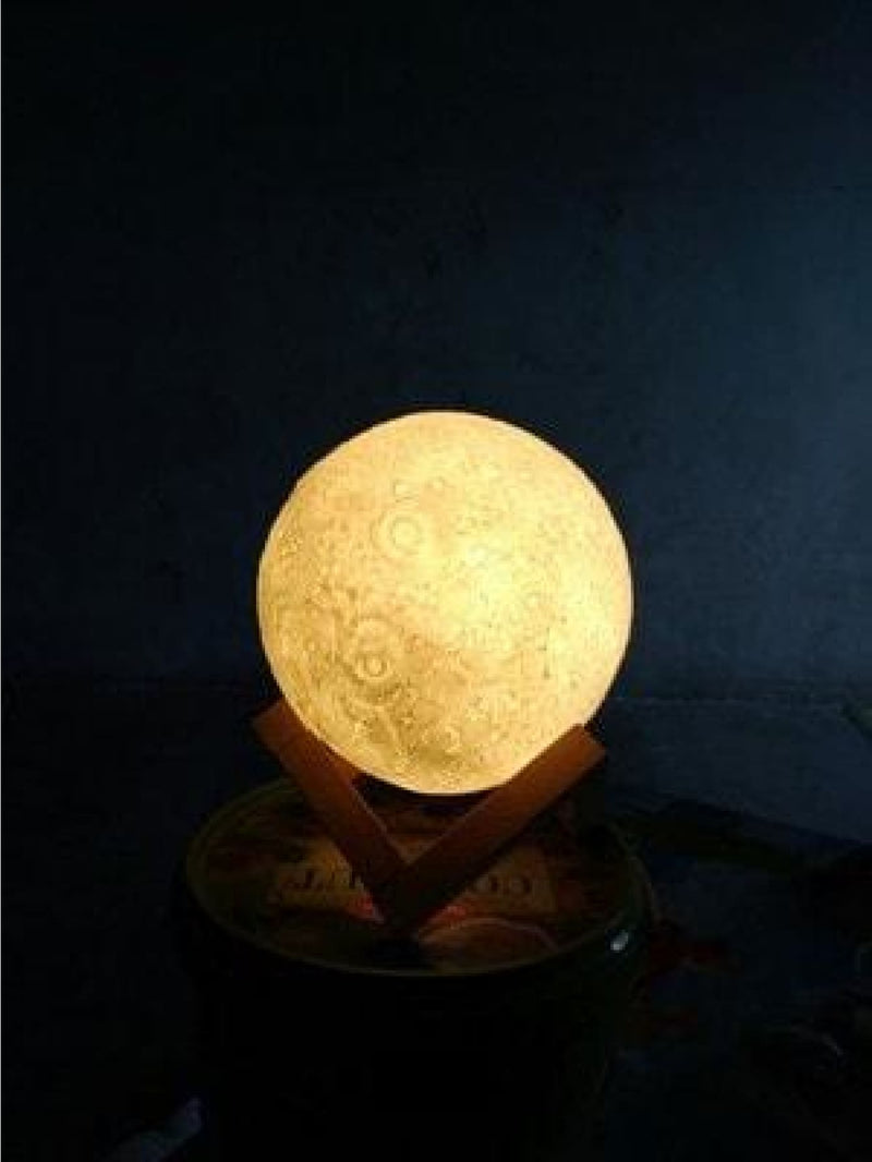 Moon Shaped Table Lamp 45V