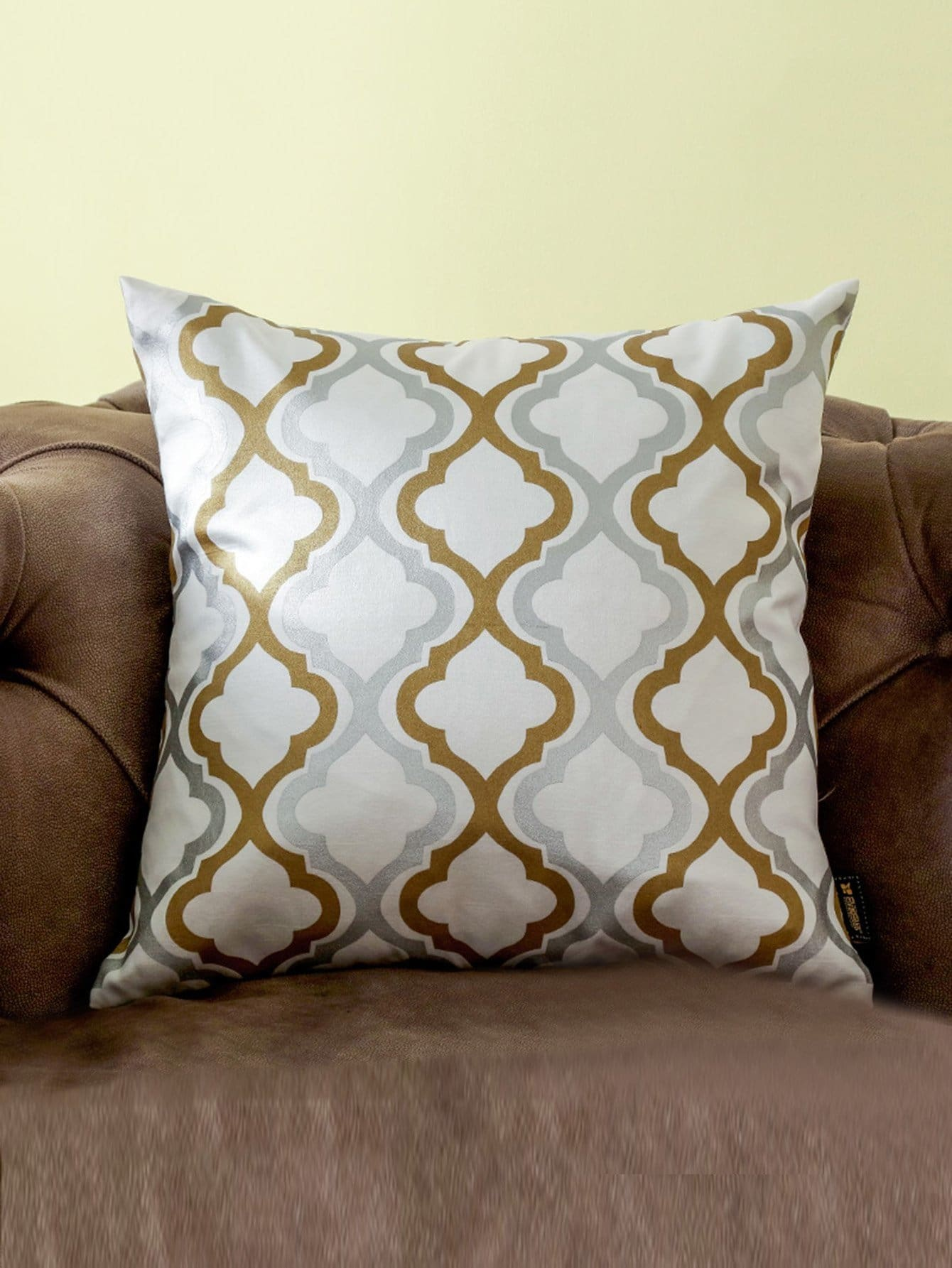 Moroccan Print Cushion Cover - Decorative Pillows