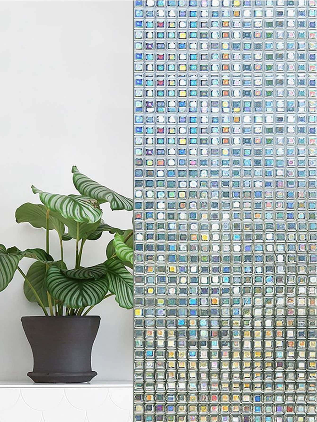 Mosaic Geometric Wall Sticker - Wall Art