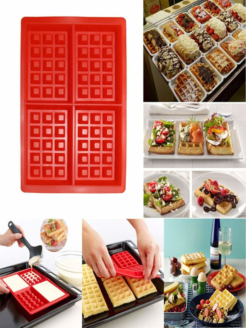 Multi Compartment Silica Gel Mold