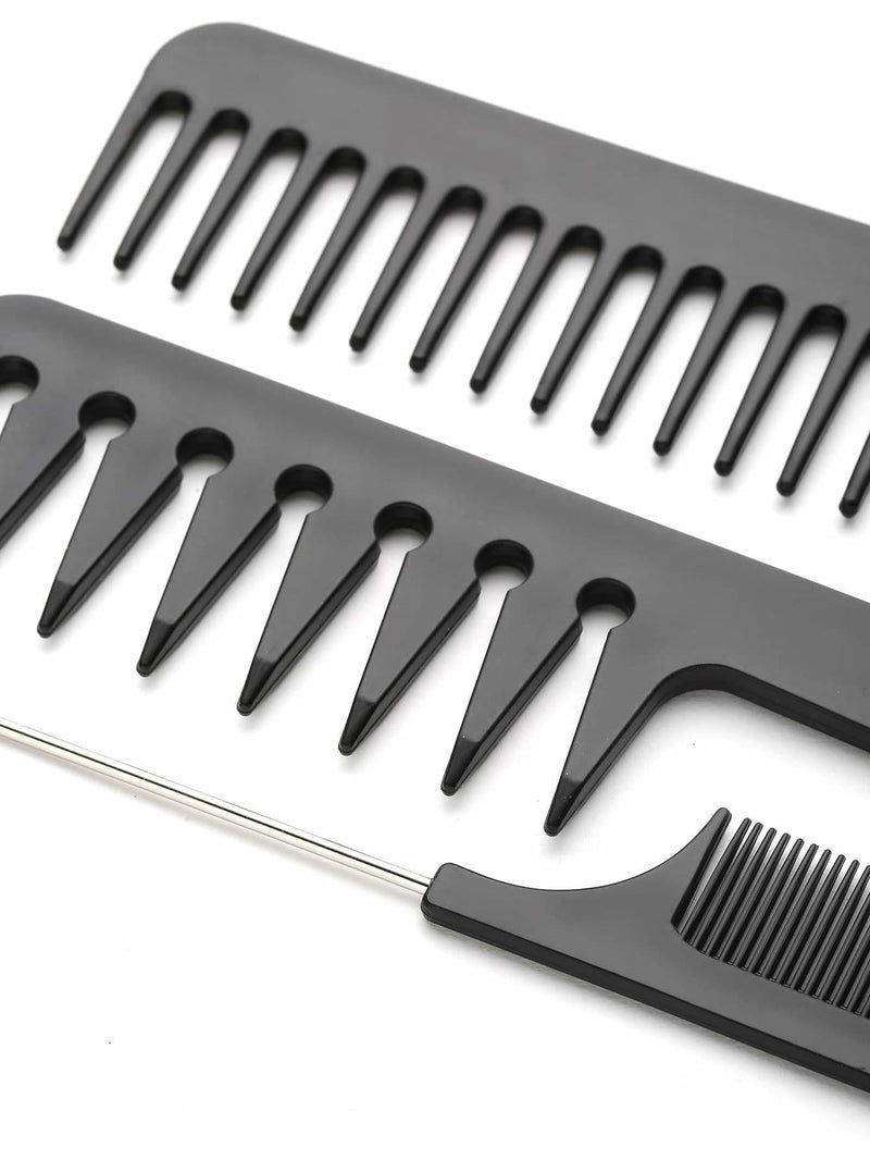 Multi Shaped Hair Comb Set 10pcs