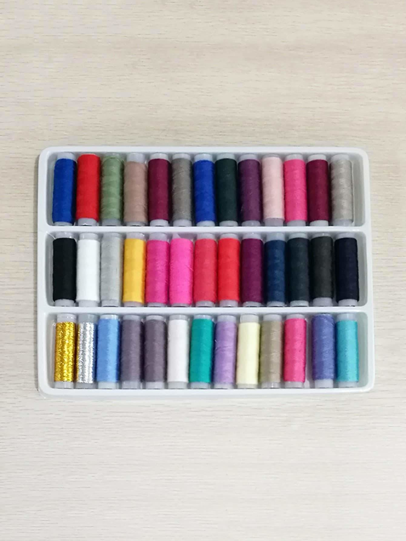 Multicolor Sewing Thread 39pcs