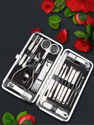 Nail Clipper Set 16Pcs - Beauty Tools