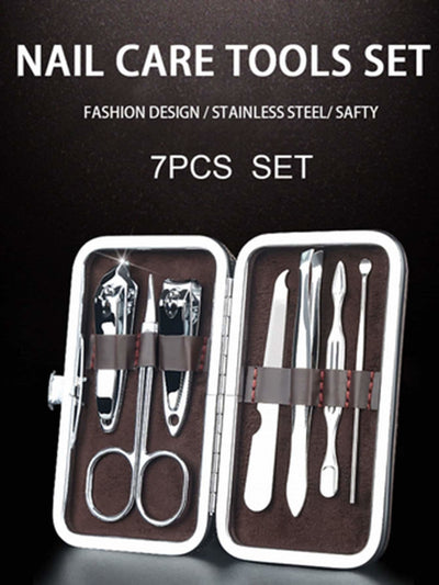 Nail Clipper Set 7Pcs - Beauty Tools