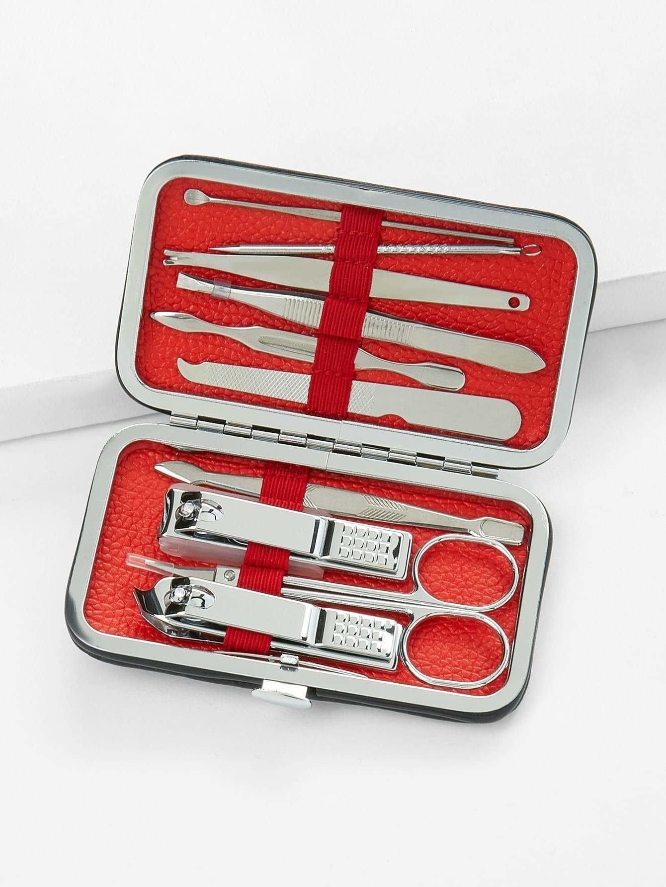 Nail Cutters Set With Bag - Daily Necessities