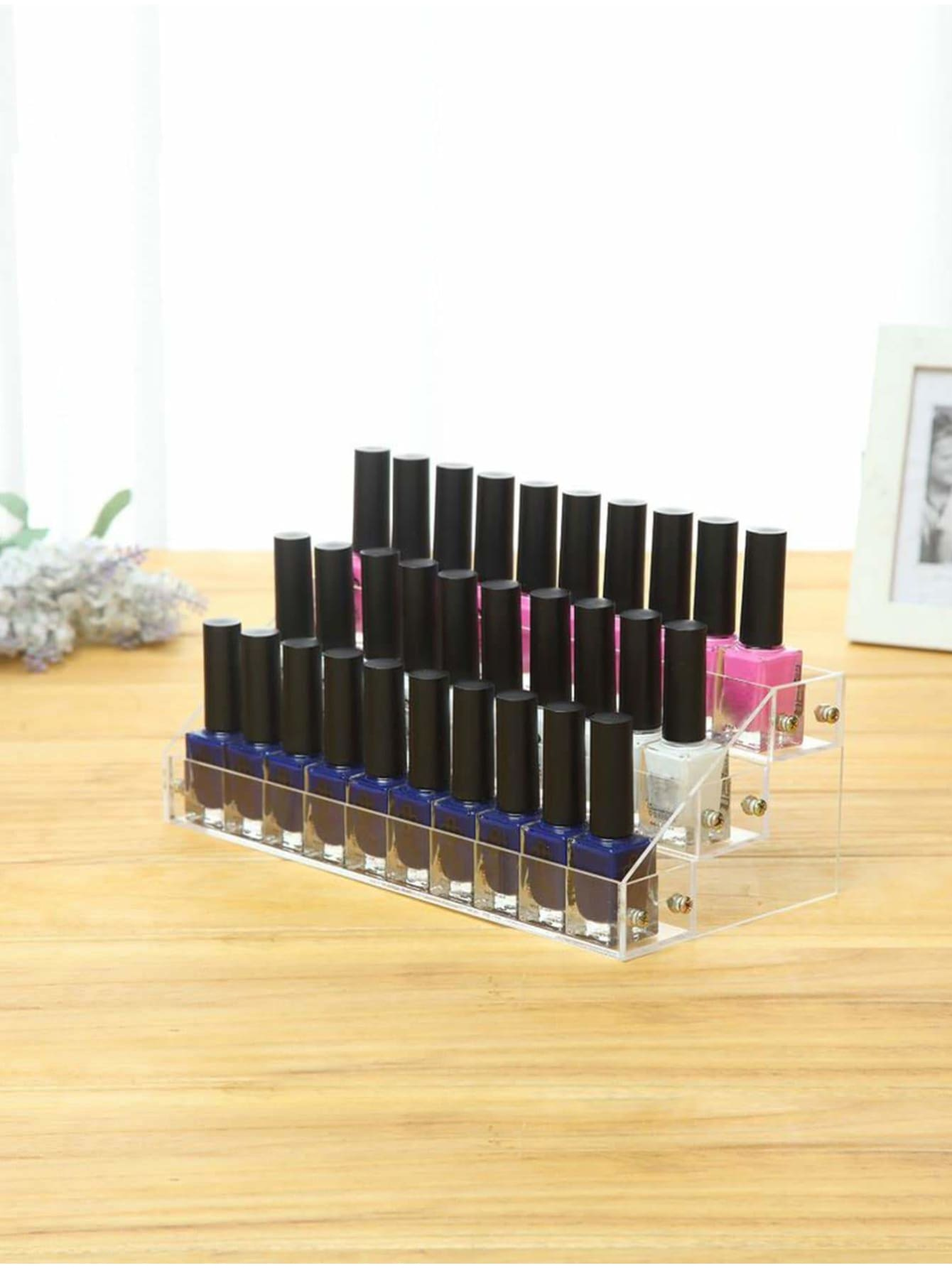 Nail Polish Storage Rack 3layers