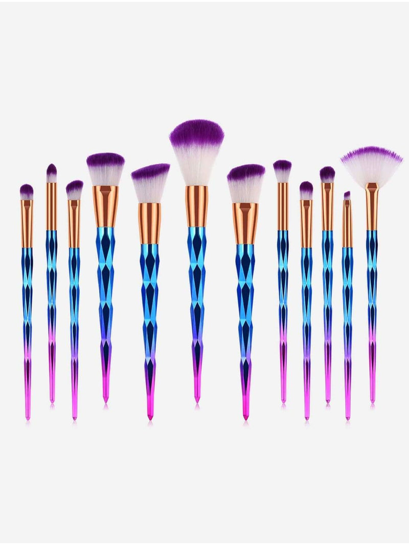 Ombre Makeup Brush 12Pcs - Makeup Brushes