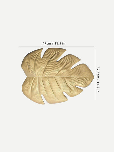 Palm Leaf Shaped Placemat 1Pc - Dining