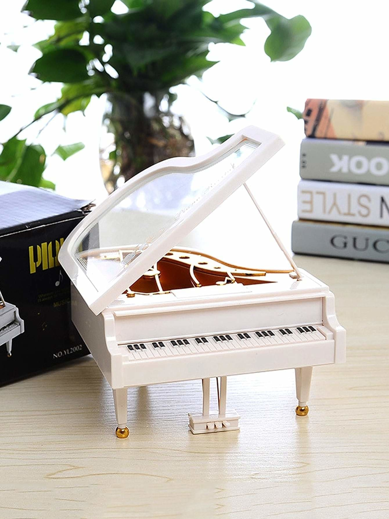 Piano Shaped Music Box