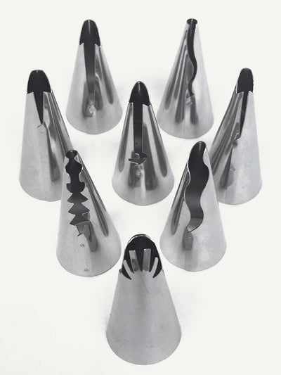 Piping Nozzle & Bag 10Pcs - Bakeware