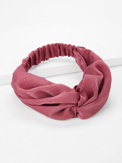 Plain Twist Headband - Hair Accessories