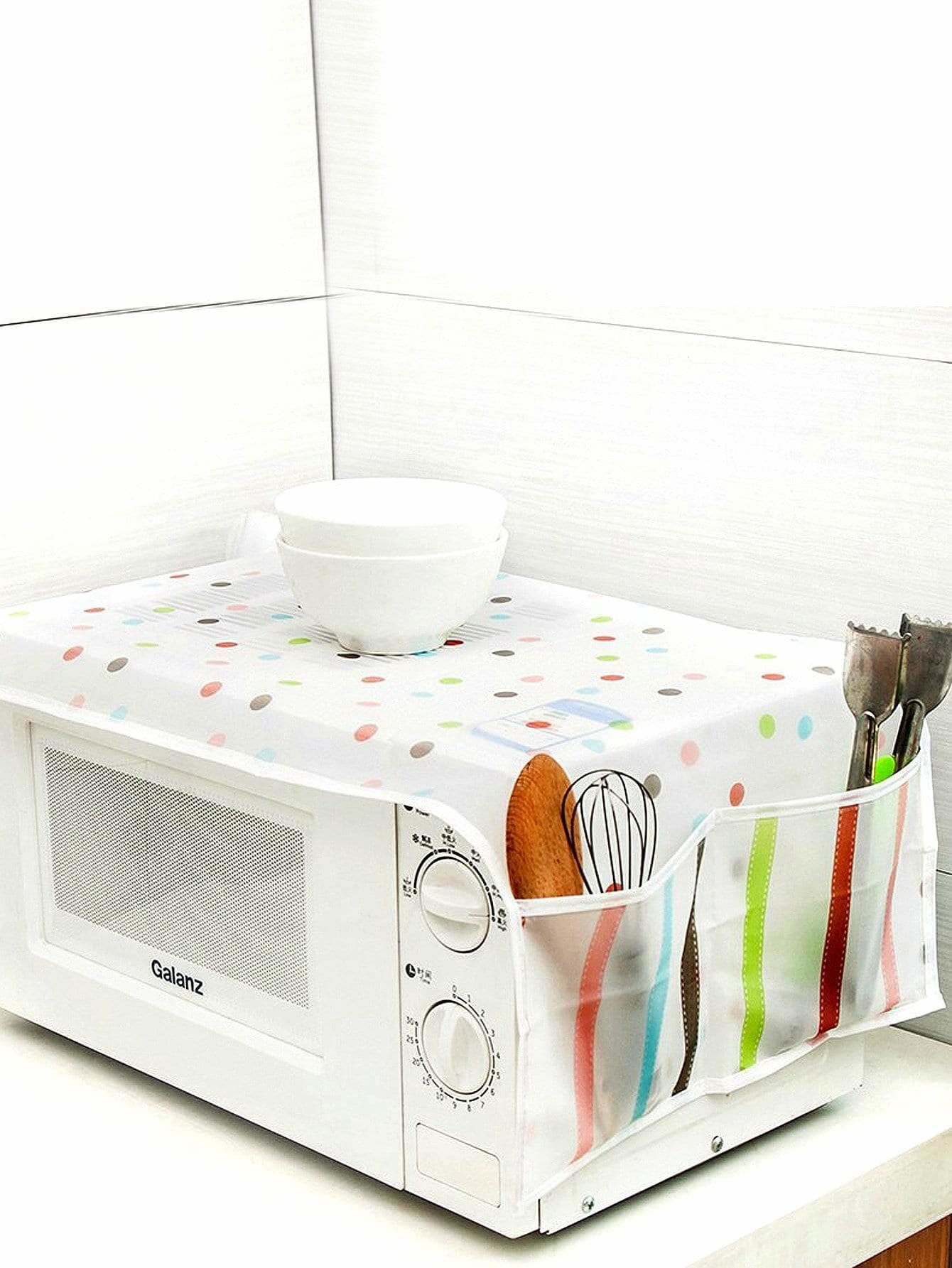 Pocket Side Microwave Oven Dust Cover