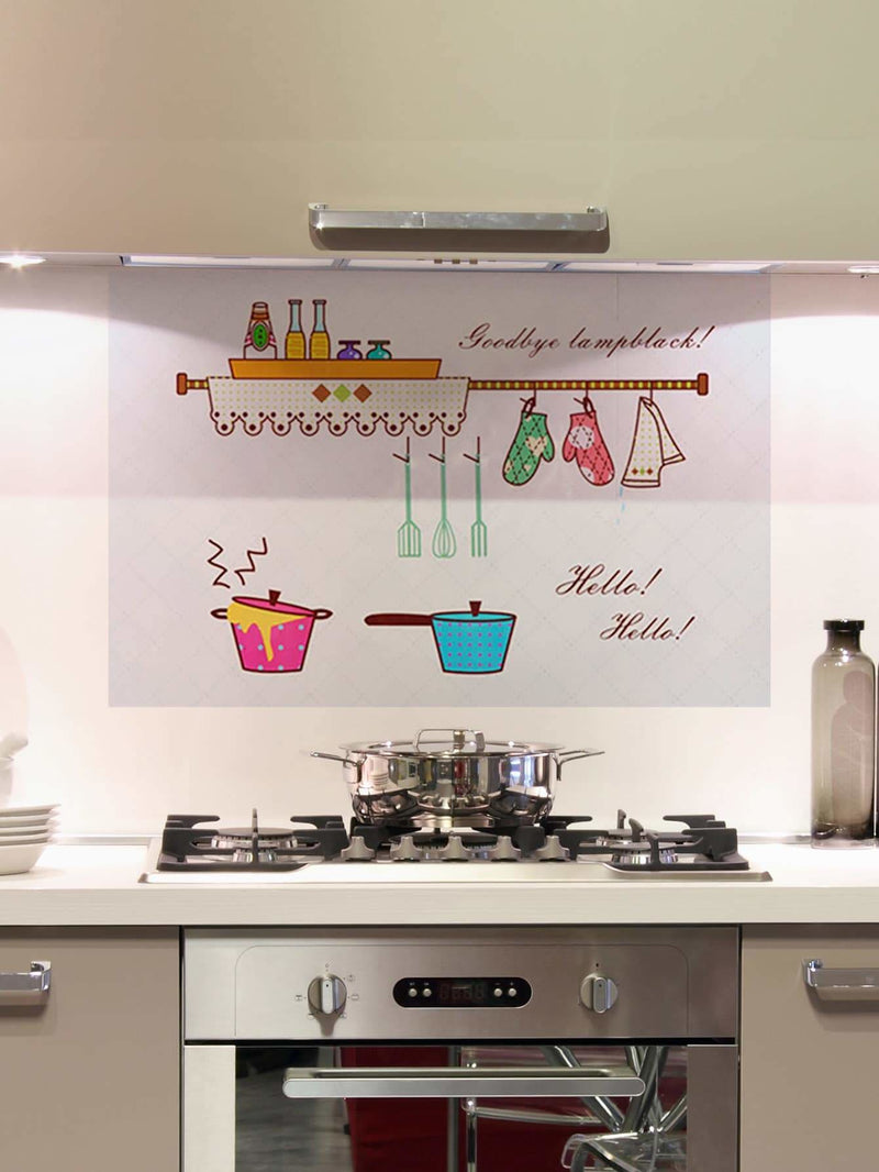Pot Print Wall Sticker - Wall Art