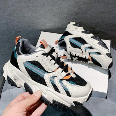 Breathable Platform Chunky Sneakers
