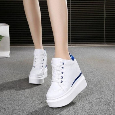 PU Leather Platform Sneakers - as picture 2 / 4 - Womens Sneakers