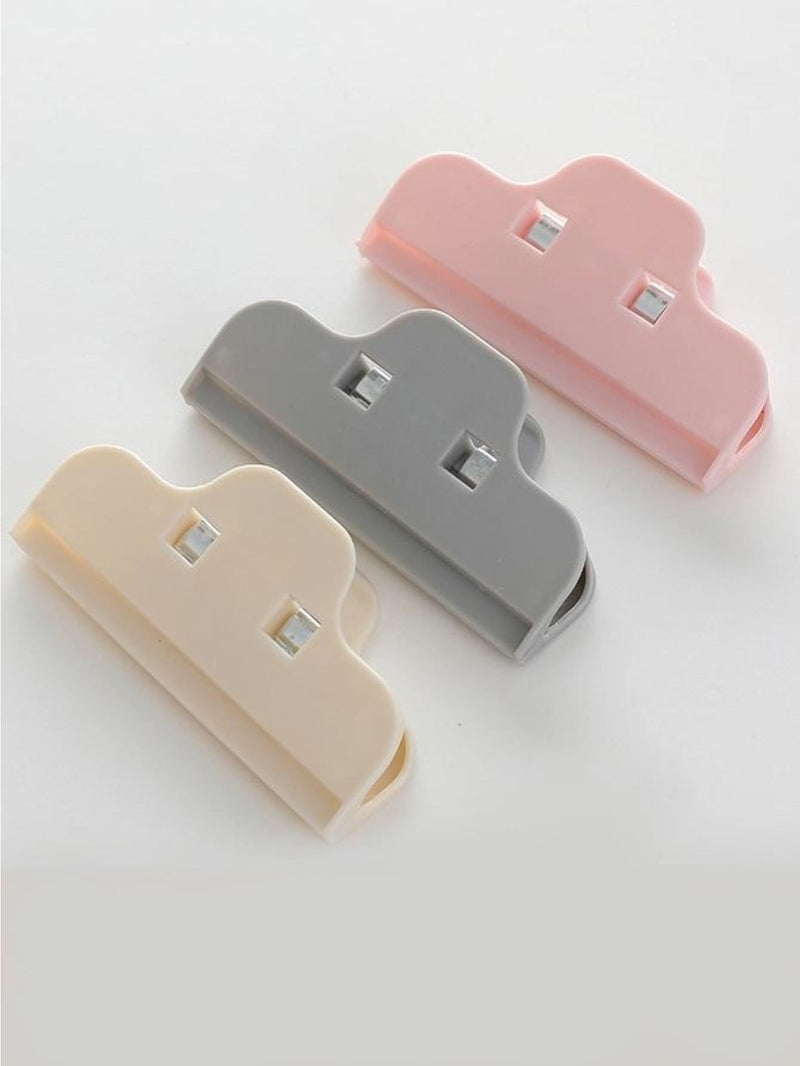 Random Color Bag Clips 3pcs