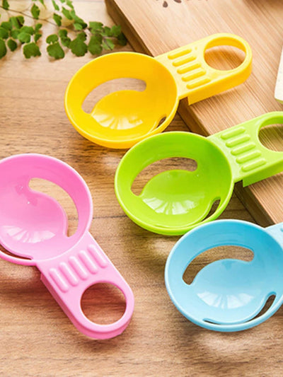 Random Color Egg Separator 4Pcs - Kitchen Tools