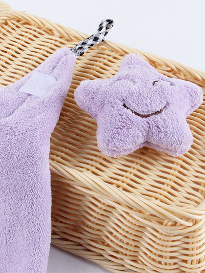 Random Color Star Decor Drying Towel 1Pc - Bath Towels
