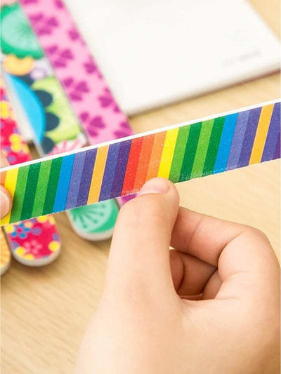 Random Pattern Nail File 1Pc - Beauty Tools
