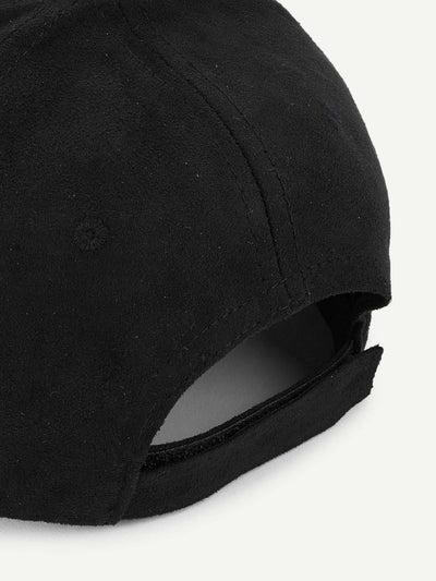 Ring Detail Baseball Cap - Hats & Gloves