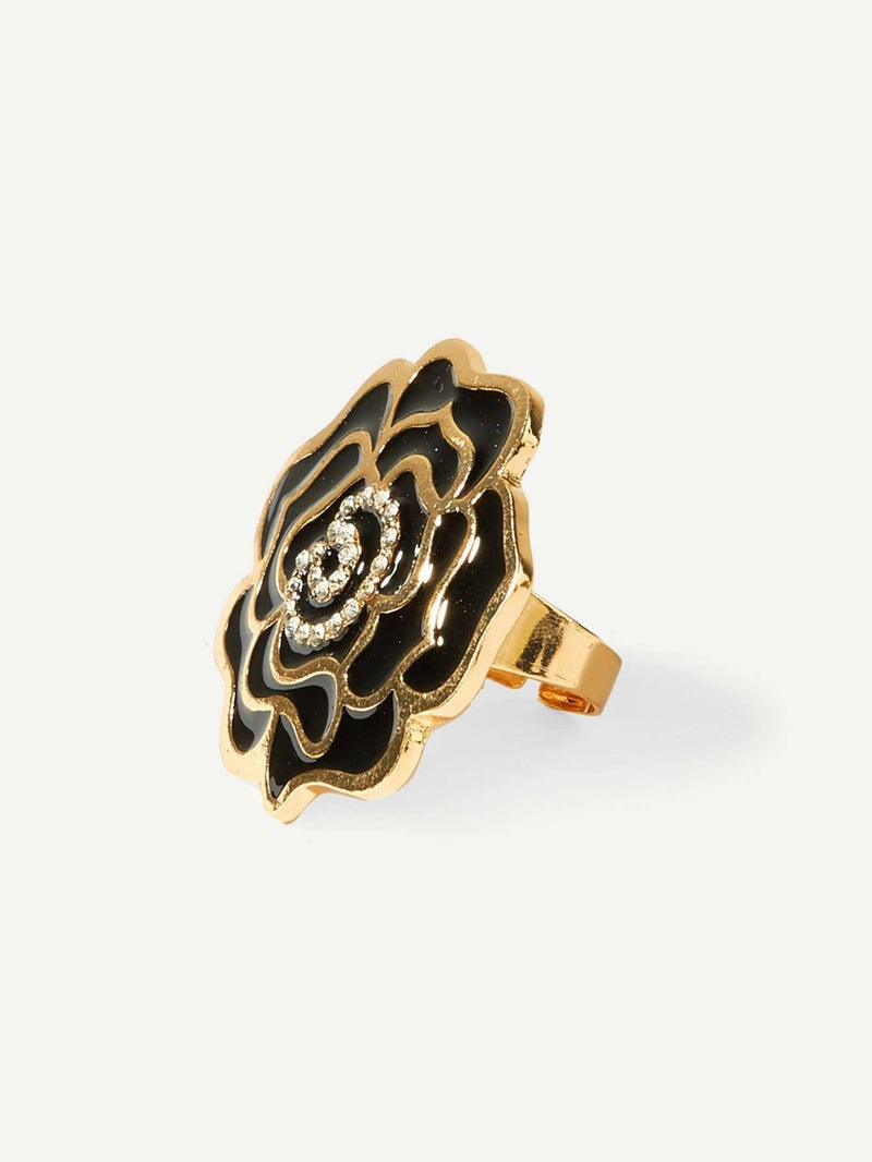 Rose Design Ring