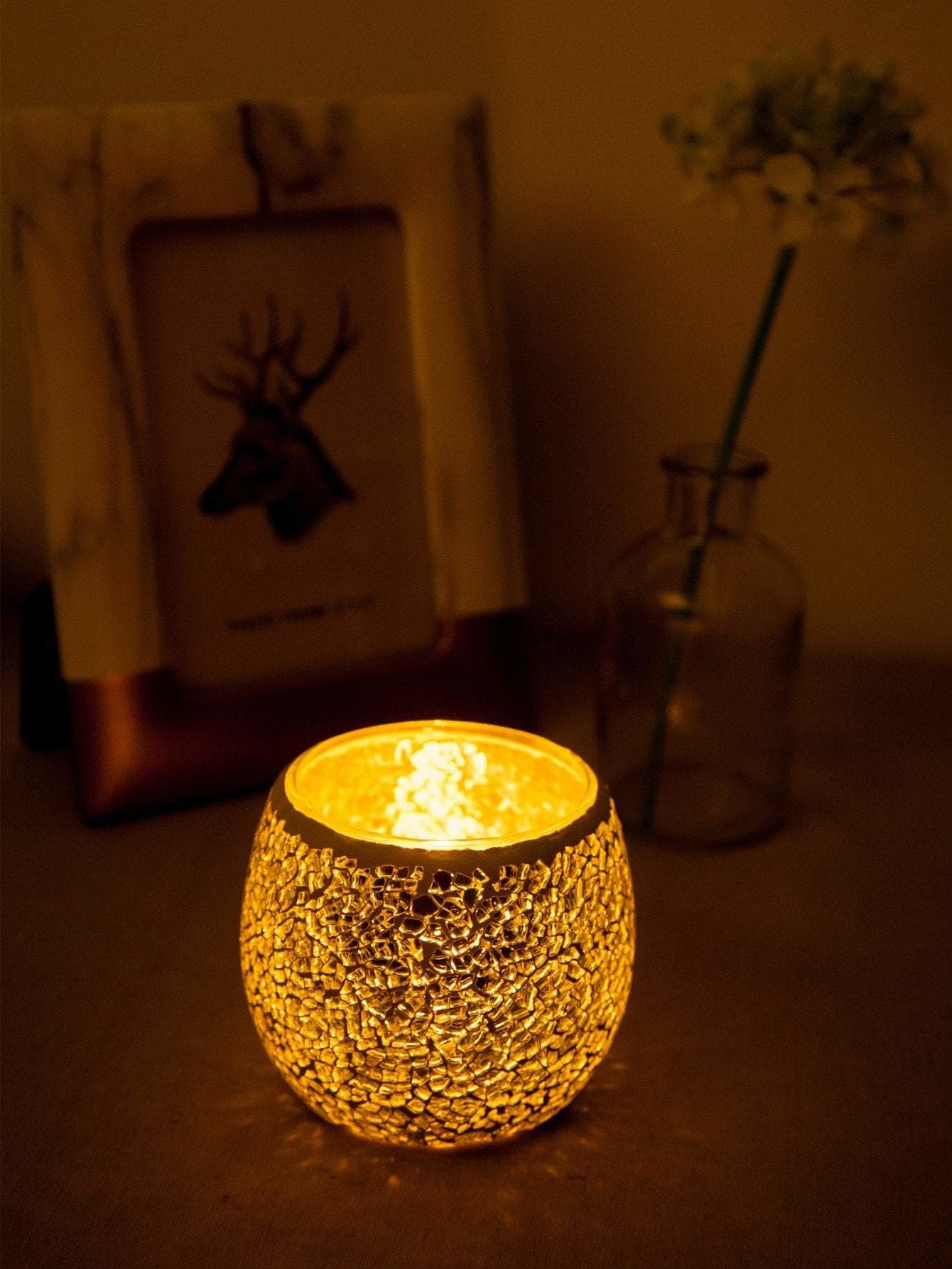 Round Glass Candle Cover