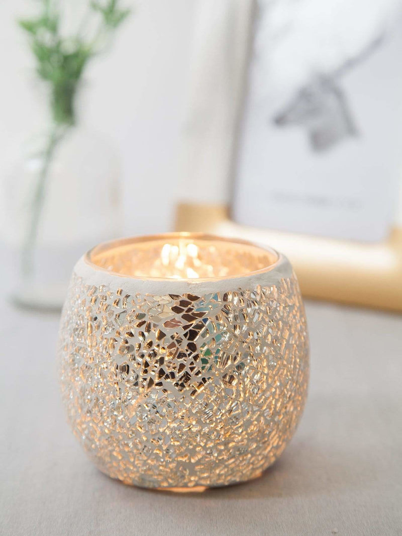 Round Glass Candle Cover - Displays
