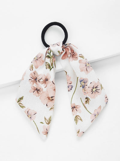 Scarf Knot Hair Tie - Hair Accessories