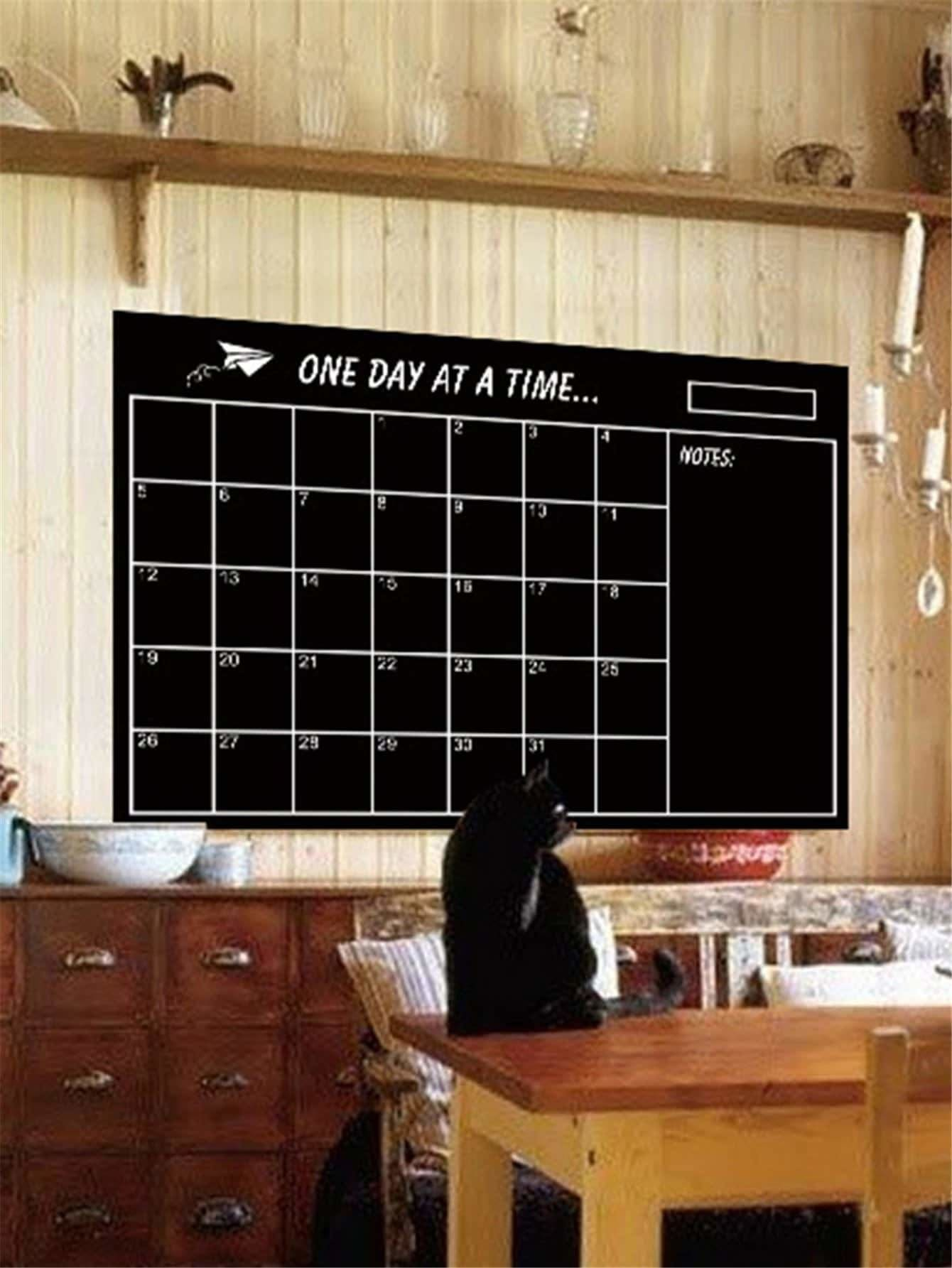 Self Adhesive Blackboard Sticker - Wall Art