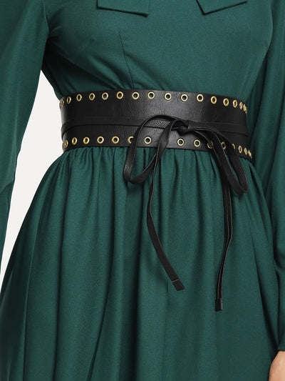 Self Tie Eyelet Belt - Belts