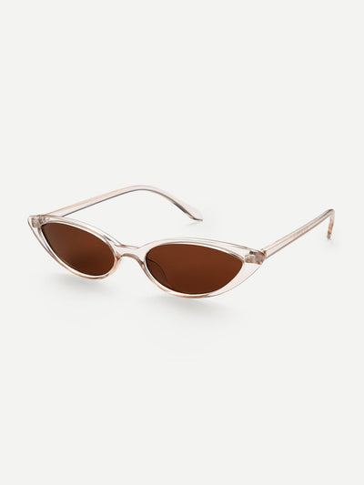 Skinny Cat Eye Sunglasses - Sunglasses