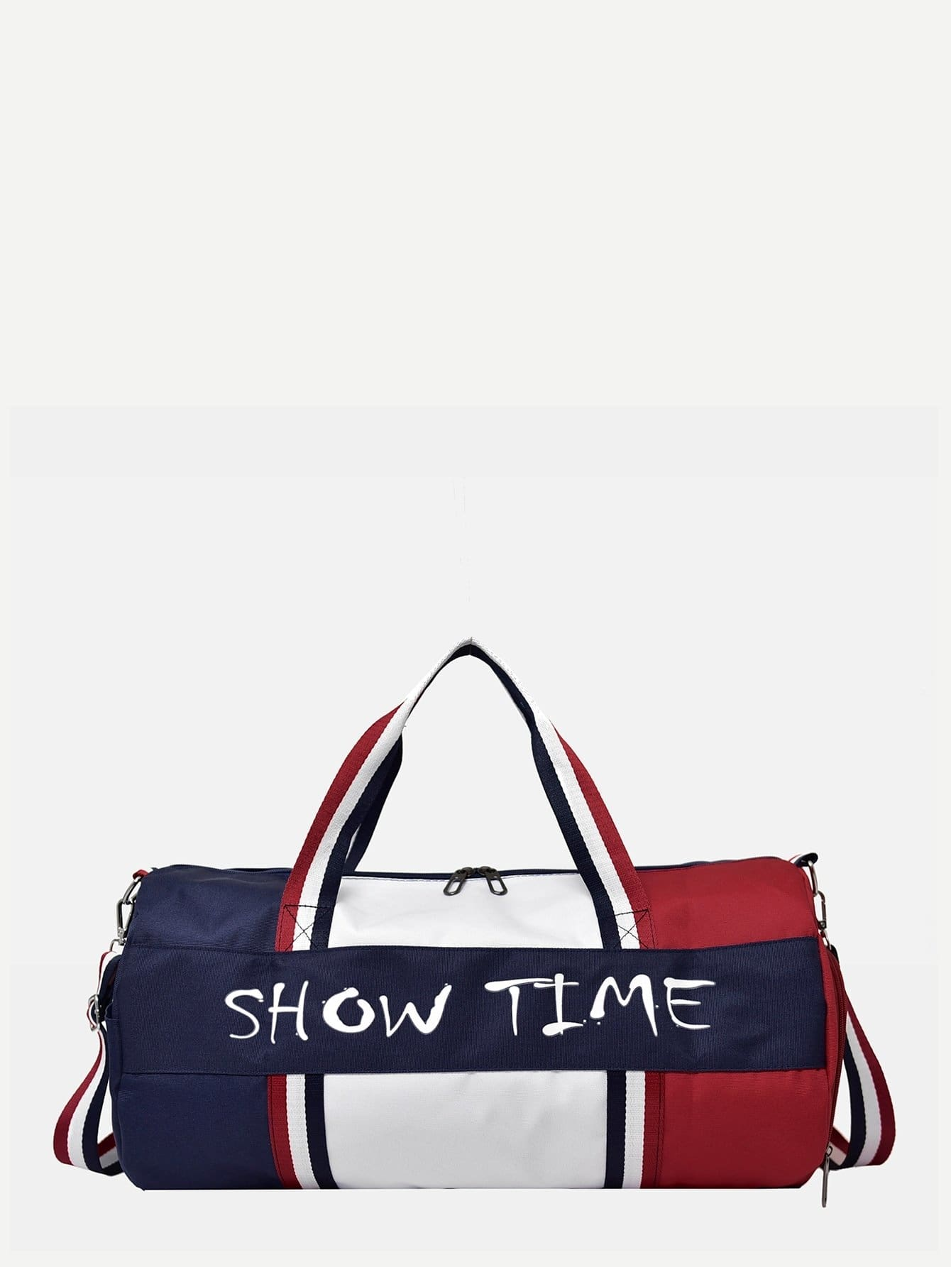 Slogan Patch Bowling Bag - Womens Bag