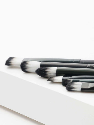 Soft Bristle Eye Brush 6Pcs - Makeup Brushes