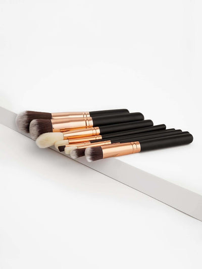 Soft Bristle Makeup Brush Set 8Pcs - Makeup Brushes