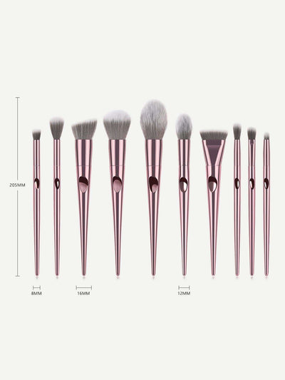 Soft Makeup Brush 10Pcs - Makeup Brushes
