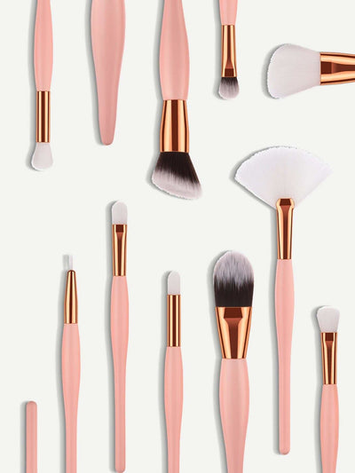 Soft Makeup Brush 15Pcs - Makeup Brushes