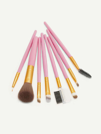 Soft Makeup Brush 8Pack - Makeup Brushes