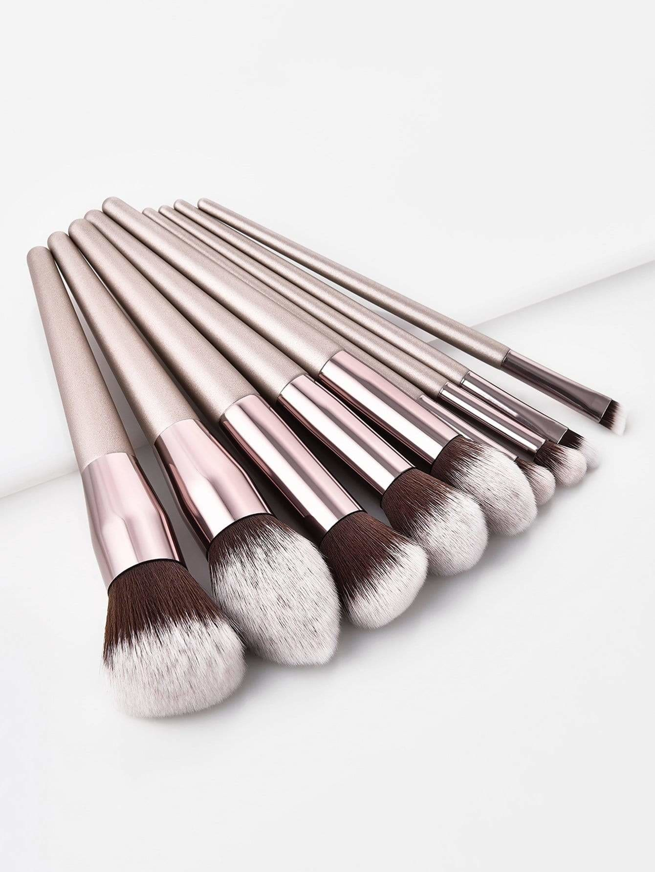 Soft Makeup Brush 9Pcs - Makeup Brushes
